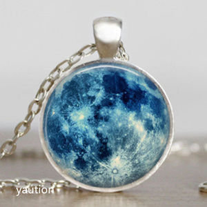 New Blue Moon Necklace